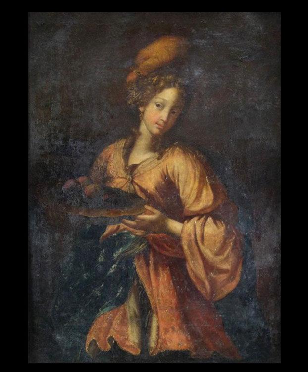 Ritratto Donna Elegante Serrao Antiques Galleria Serrao_1